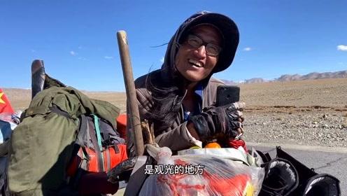 《天堂西藏》105、徒步小哥,转不完的山