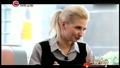 老外在中国:外国人不吃内脏,乔丽娅第一次挑战吃牛杂,看着都馋!