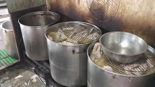 台湾美食:小吃煮鹅,制作全过程,看着就流口水!