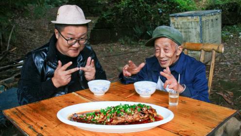 """四川名菜""""干烧鲤鱼""""教程来了,鱼肉酥香味美,味道太棒了"""