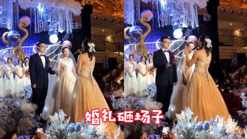 新郎请妹妹来唱歌,没想到一开口惊艳全场,婚礼秒变演唱会现场!