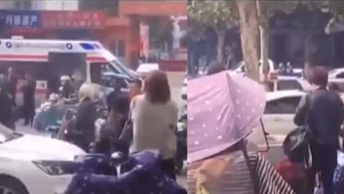 河南一**带孙女参加婚礼 女孩捡气球被车碾压头部 目击者:婚礼都停了