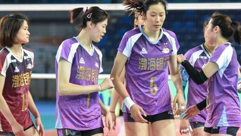 时隔303天!朱婷重返中国女排超级联赛!100秒回顾朱婷首场比赛集锦!