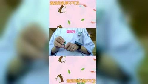 一个视频告诉你,护士是如何掰安瓿的,网友:最后那下惊到我了!