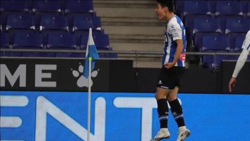 十几分钟1球1助,武磊依旧是国足一哥,西乙锻炼价值高于中超