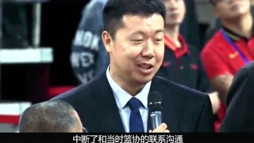 中国男篮罪人:毁掉王治郅累垮姚明,一人之力让男篮历史倒退20年