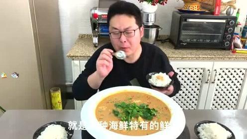 """58买2斤安康鱼鱼肝,做道""""鱼肝烧豆腐""""看着普通,味道却不一般"""