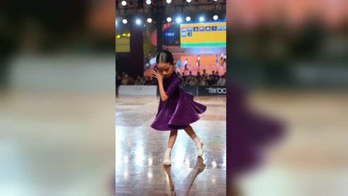 【何鑫&郭幼琪】业余10岁精英组拉丁舞前六,小小个也有大能量