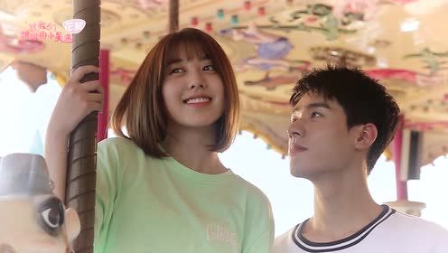 Behind the scenes: Couple ZhouZhou's date at the amusement park | The Love Equations