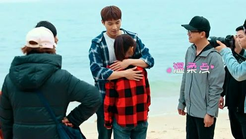 Behind the scenes: TongHao and Ye QianYe hug by the sea | Forget You Remember Love