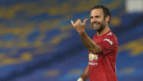 联赛杯-曼联3-0布莱顿 马塔传射博格巴任意球破门