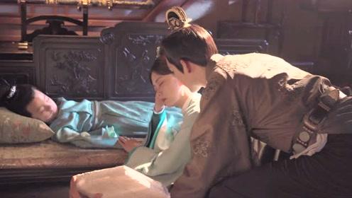BTS: Zhong Hanliang princess hug in front of the bed | The Sword and The Brocade