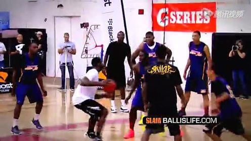 新一代NBA控球之王Tyreke Evans蝴蝶穿花步
