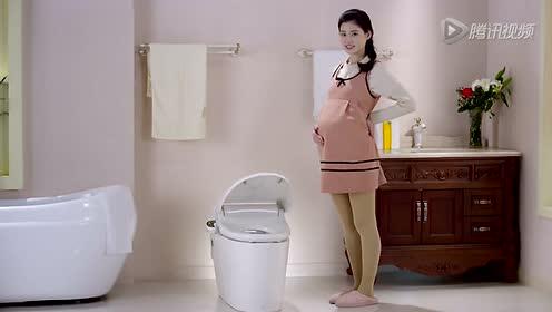 松下洁乐智能马桶盖 自动开盖篇 搞笑广告片