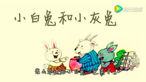 沪教版一年级语文下册22 小白兔和小灰兔