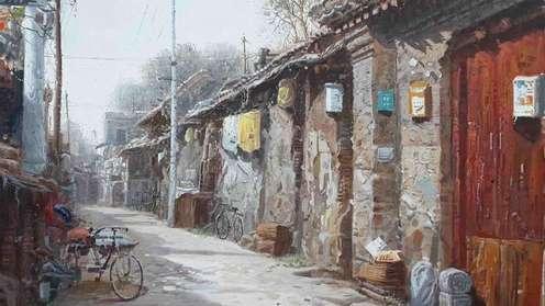 胡同里的老北京
