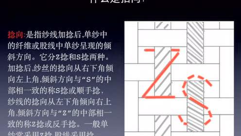 第5课、如何区分面料经纬纱方向及拈向