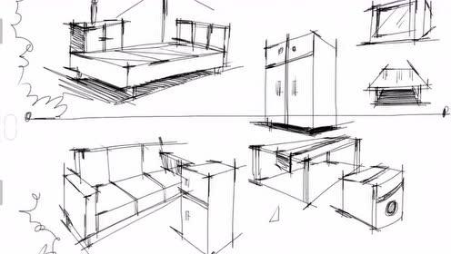 手绘艺术 室内设计建筑手绘,设计师必备技能建筑俯视12弹!