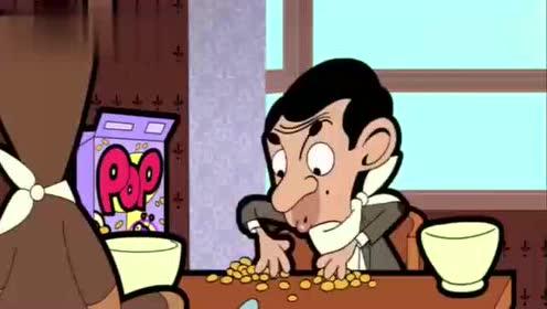 搞笑动漫,憨豆先生玩具赠品