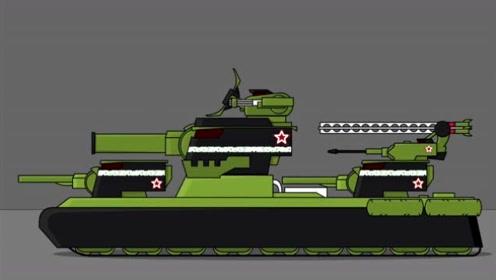 坦克世界搞笑动漫-S系打造KV-44