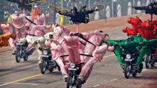 中国阅兵vs印度阅兵£¬引发全球哄笑£¬没有对比就没有伤害£¡