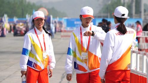 亚洲文明周奥园有一道别样风景线:北京志愿者挥洒青春