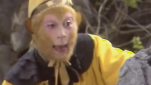 西游记:孙悟空叫猪八戒变成妖怪的模样,肚子回不去,真搞笑