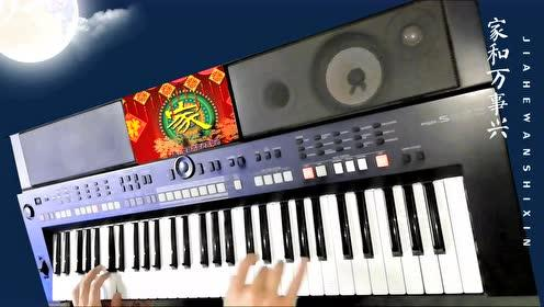 中秋献礼电子乐器演奏《家和万事兴》