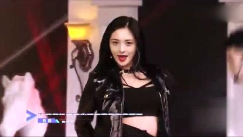 周洁琼热舞《特务J》,场面劲爆,蔡徐坤的眼睛都看直了!