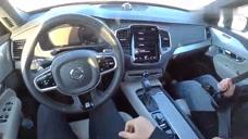 雪后第一视角试驾2020款沃尔沃XC90,开车上路跑一圈,彻底心动了