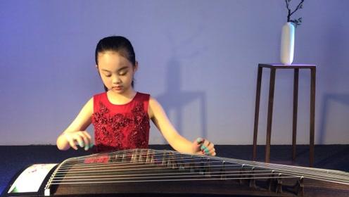 环球青少年风采大会选手李茗涵器乐《彝族舞曲》3-6年级