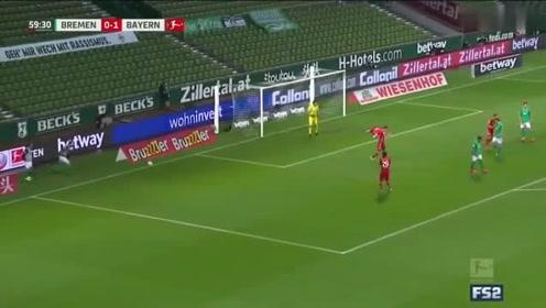 德甲8连冠拜仁10客胜不莱梅,提前两轮夺魁