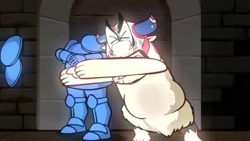 搞笑动画:猪队友勇闯恶魔岛绝地求生,你品你