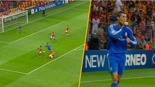 欧冠史上最精彩的十大传奇进球,来自足坛名宿的逆天进球表演