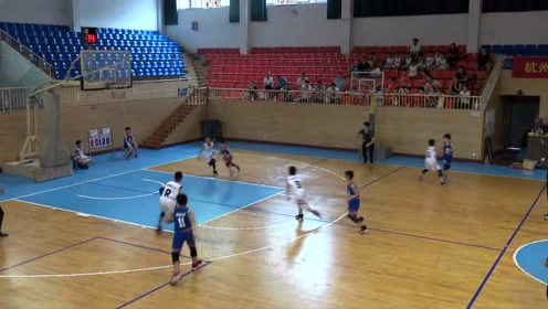 富春八小富阳区种子杯篮球赛精彩集锦