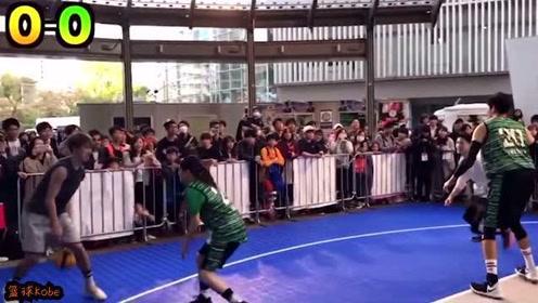 日本美少年街球手炸裂集锦,无辜少女沦为背景板!