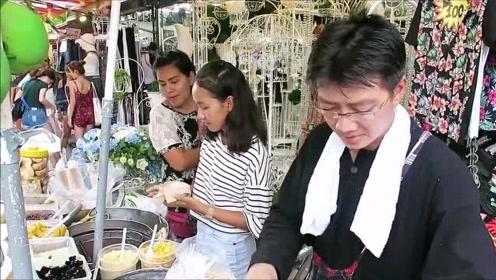 美食:泰国街头小吃又出新花样,我们扔的东西在这变成特色小吃了!