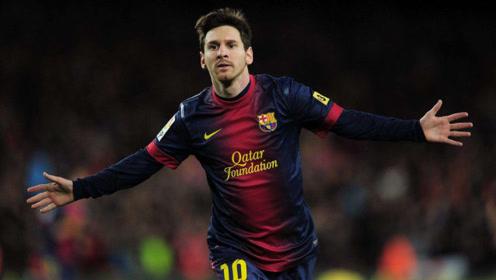 梅西记录丨2012年度91粒进球丨见证活着的传奇