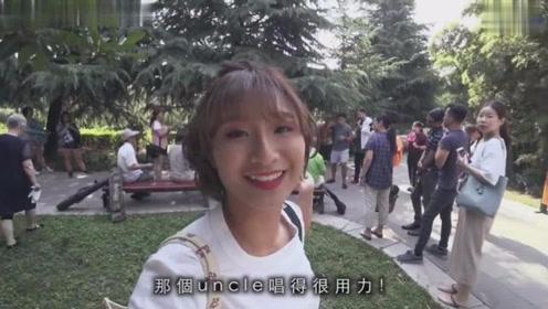马来西亚华人妹子游古都西安!吃美食逛古迹对中国文化太着迷