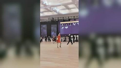 现场版感受,这对真的很强 #拉丁舞# #王崇墨李茉晗#
