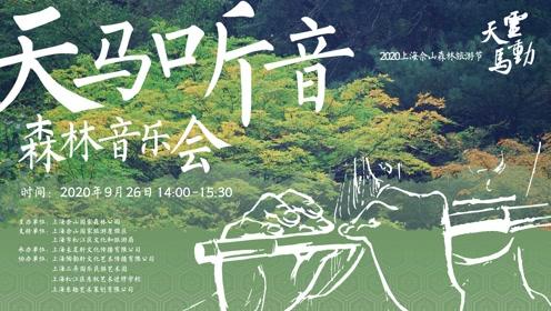 灵动天马/2020上海佘山森林旅游节/天马听音-森林音乐会/预告片