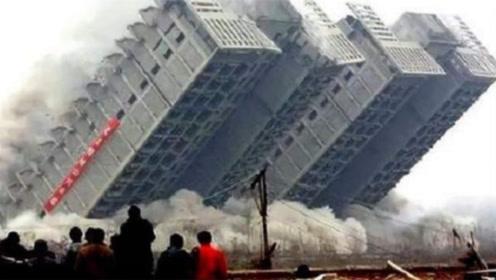印度为赶超中国基建,2天建出10层高楼,还没几天就变成笑柄!