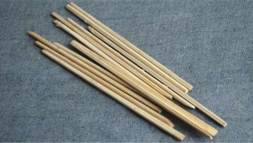 用完的废旧筷子不能扔!多亏家里老人及时发现,不然会惹出大麻烦