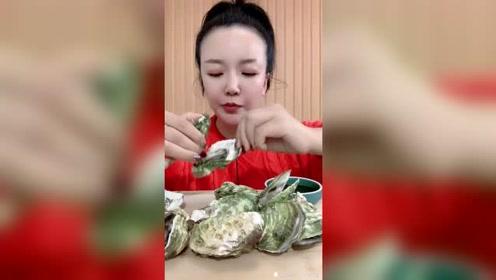 美食吃播:生蚝