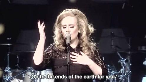Adele深情演唱《Make You Feel My Love》太美了