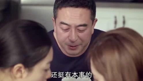 后妈为闺女煮面,哪料大叔先吃上了,顿时提锅就跑