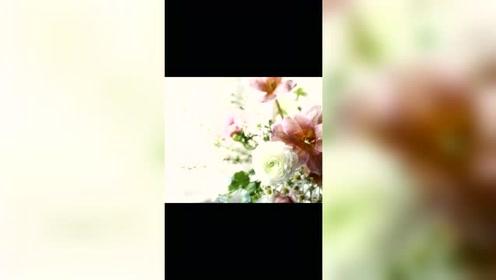 插花教程:如何学习插花花艺,法式烛台桌花教学视频步骤详解#生活窍门# #手工DIY# #解压手工#