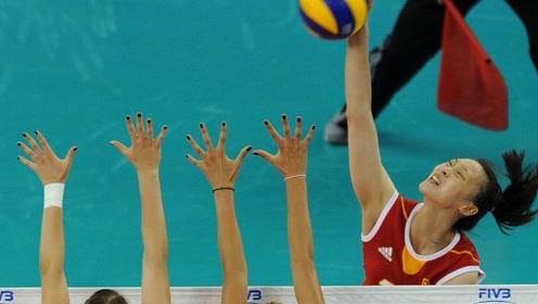 决胜局惠若琪惊人9连发开局9:1!塞尔维亚女排教练暂停和换人都无法阻止
