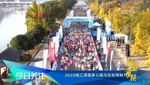 2020钱江源国家公园马拉松鸣枪开跑
