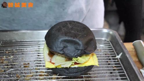西式汉堡成为都市白领早餐新宠,网友:我喜欢,选择多,口味多